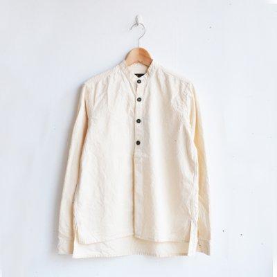 画像1: AU GARCONS(オーギャルソン) / ELIE バンドカラーシャツ