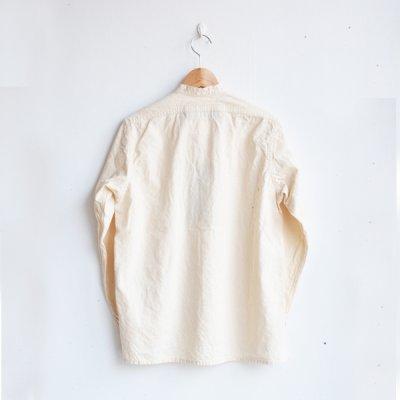 画像2: AU GARCONS(オーギャルソン) / ELIE バンドカラーシャツ