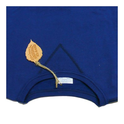画像2: ハチガハナ×ライディングハイ / スウェットシャツ ブルー(HH-036)