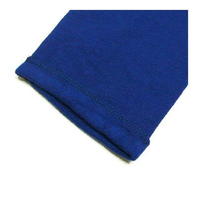 画像4: ハチガハナ×ライディングハイ / スウェットシャツ ブルー(HH-036)