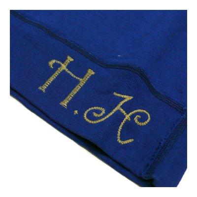 画像5: ハチガハナ×ライディングハイ / スウェットシャツ ブルー(HH-036)