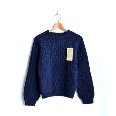 画像2: INVERALLAN / Crew Neck Cable Pattern