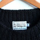 MORE DEDAIL2: INVERALLAN / Crew Neck Cable Pattern