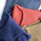 MORE DEDAIL2: INVERALLAN / Roll Neck Knit