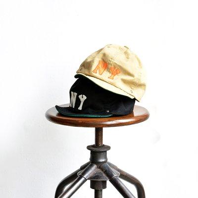 画像1: DECHO / NEGRO BALL CAP -NY- EBETTS FIELD