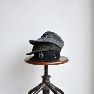 画像1: DECHO / BALL CAP -STRIPE-